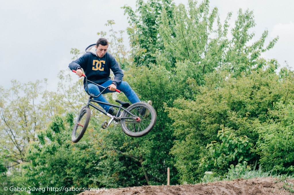 dirt jump training / 1 © Gabor Suveg