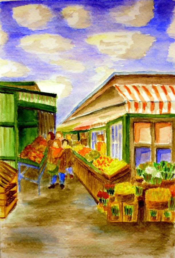 gabor-suveg-akvarell-nashmarkt