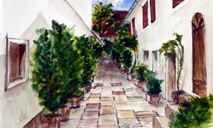Gábor Süveg: inner courtyard