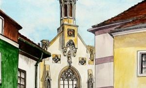 Gábor Süveg: Sopron, Orsolya templom