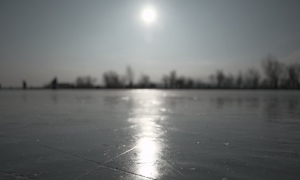 sunshine on ice