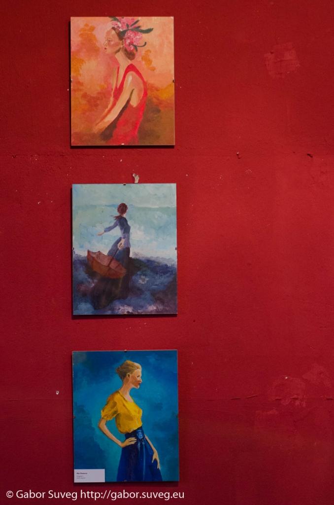 """Búgócsiga Akusztik Garden – """"Ars paintica"""" - Máj Orsolya festménykiállításának megnyitója  / 6 © Gabor Suveg"""