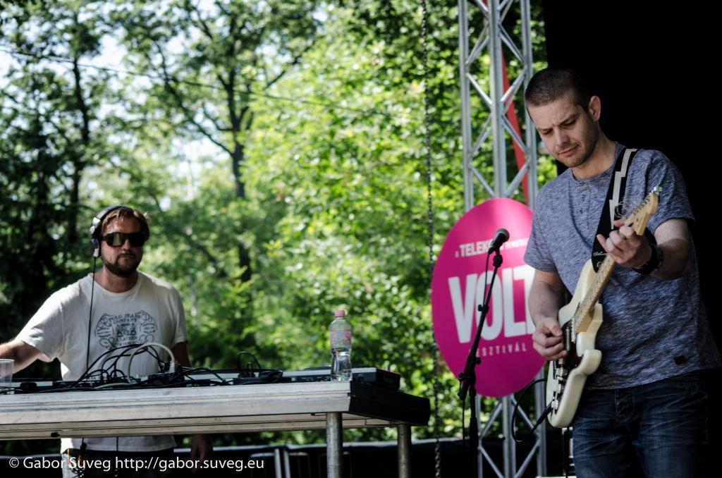 VOLT 2014 / Dj QQ és barátai live act / 4 © Gabor Suveg