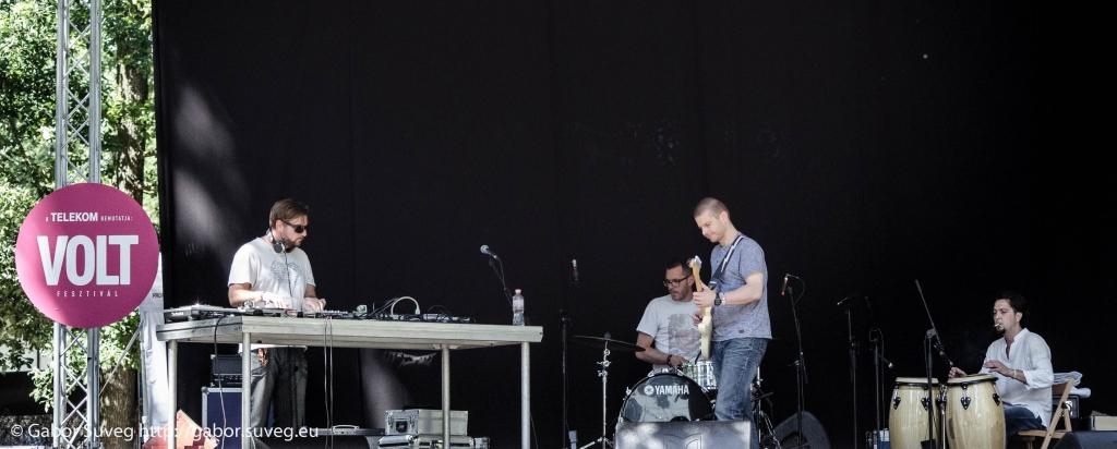 VOLT 2014 / Dj QQ és barátai live act / 1 © Gabor Suveg
